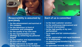 Customer focus as a basis for innovation – The key to our success!